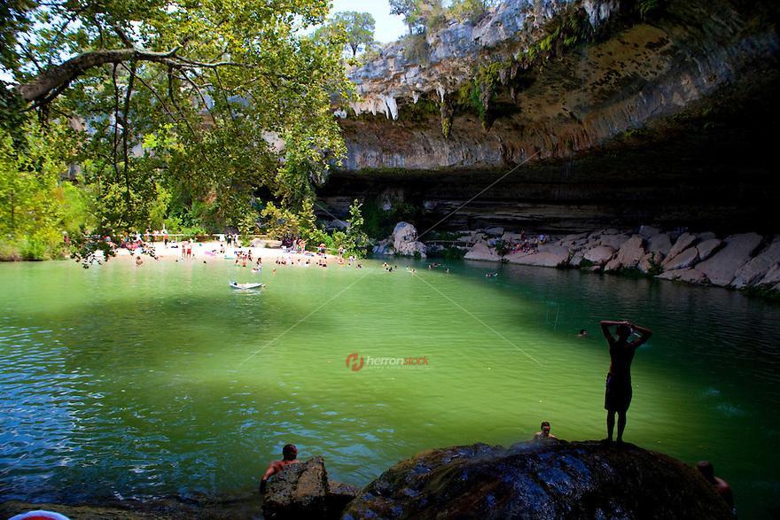 Hamilton Pool Is A Favorite Waterfall Cave Pool Near Austin Texas