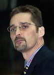 Eishockey DEL 1.Bundesliga 2002/2003 Nuernberg (Germany) Nuernberg IceTigers - Eisbaeren Berlin (1:4) Trainer Mike Schmidt (IceTigers)