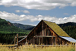 Barn in Montana Mountain Valley