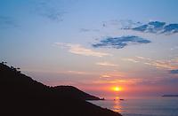 Sunrise at Praia da Atalaia, Santa Catarina, Brazil, 2015