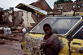 Guekedou, Guinea<br /> April 2001<br /> <br /> A child in the streets of Guekedou a town that was attacked by Sierra Leone rebels then bombed by the Guinean military in January. The attacks scattered hundreds of families and separated children from parents throughout the region.