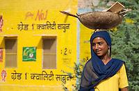 General Street scene in Bikaner located in the Thar Desert,Rajasthan India,
