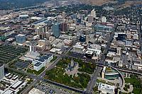aerial photograph Salt Lake City, Utah