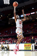 College Park, MD - DEC 6, 2016: Maryland Terrapins guard Shatori Walker-Kimbrough (32) goes up for a lay up during game between Towson and Maryland at XFINITY Center in College Park, MD. The Terps defeated the Tigers 97-63. (Photo by Phil Peters/Media Images International)