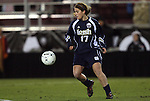 04 December 2009: Notre Dame's Courtney Barg. The University of North Carolina Tar Heels defeated the Notre Dame University Fighting Irish 1-0 at the Aggie Soccer Complex in College Station, Texas in an NCAA Division I Women's College Cup Semifinal game.