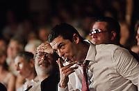 PESCARA (PE) 08/07/2012 - 39° FILM FESTIVAL INTERNAZIONALE FLAIANO. PREMIAZIONE FINALE. IN FOTO L'ATTORE ALESSANDRO GASSMAN. FOTO DI LORETO ADAMO