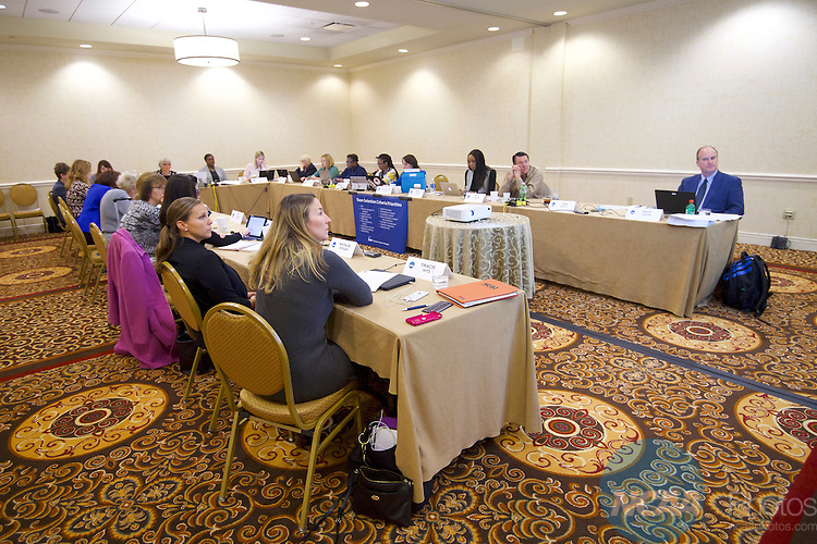 18 JAN 2017: The Division I Women's Basketball Committee meeting takes place during the 2017 NCAA Convention at the Gaylord Opryland Resort and Convention Center in Nashville, TN.  Jamie Schwaberow/NCAA Photos