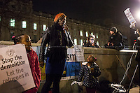 """29.02.2016 - """"Stop The Demolition: Let Refugees In - Emergency Protest at Downing St"""""""