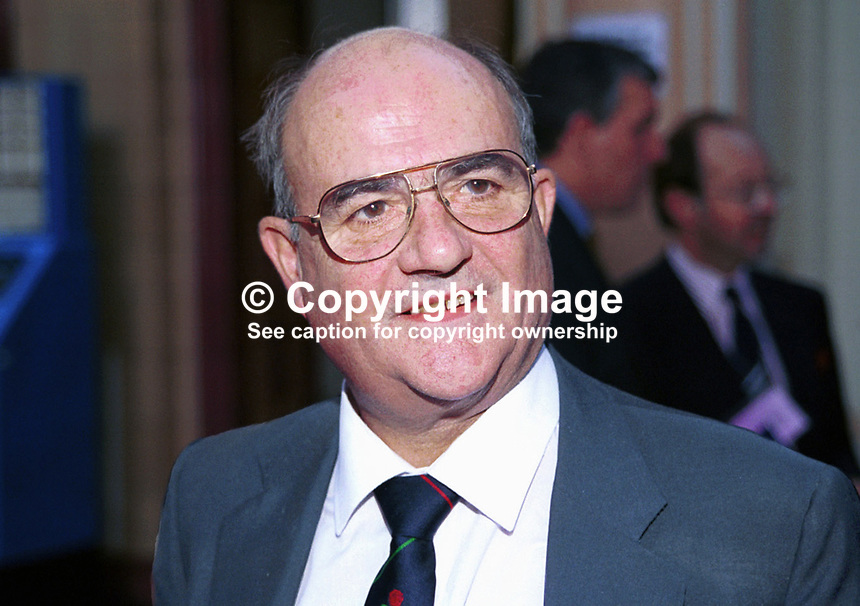John Taylor, Conservative Party, MP, Britain, UK, Annual Conference, Blackpool, 199910041<br /> <br /> Copyright Image from Victor Patterson, 54 Dorchester Park, Belfast, UK, BT9 6RJ<br /> <br /> t: +44 28 90661296<br /> m: +44 7802 353836<br /> vm: +44 20 88167153<br /> e1: victorpatterson@me.com<br /> e2: victorpatterson@gmail.com<br /> <br /> For my Terms and Conditions of Use go to www.victorpatterson.com