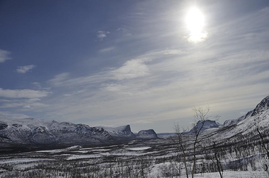 Sarek national park,Sweden