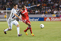 Carson, California - Wednesday March 14, 2012: Toronto FC defeated the LA Galaxy 2-1 at Home Depot Center stadium during a quarter final round match in CONCACAF Champions League.