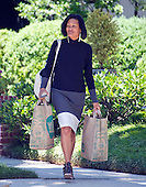 Cheryl Mills, former Chief of Staff to former United States Secretary of State Hillary Clinton, departs the Clinton home in Washington, DC on Saturday morning, July 2, 2016 following the announcement that Clinton had been questioned by the FBI earlier today.<br /> Credit: Ron Sachs / CNP<br /> (RESTRICTION: NO New York or New Jersey Newspapers or newspapers within a 75 mile radius of New York City)