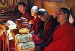 Buddhist monks, Ulaanbaatar, Mongolia