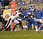 Kentucky Wildcats running back Dyshawn Mobley (33) runs the ball during the second half of the UK Football game v. Samford at Commonwealth Stadium in Lexington, Ky., on Saturday, November 17, 2012. Photo by Genevieve Adams | Staff