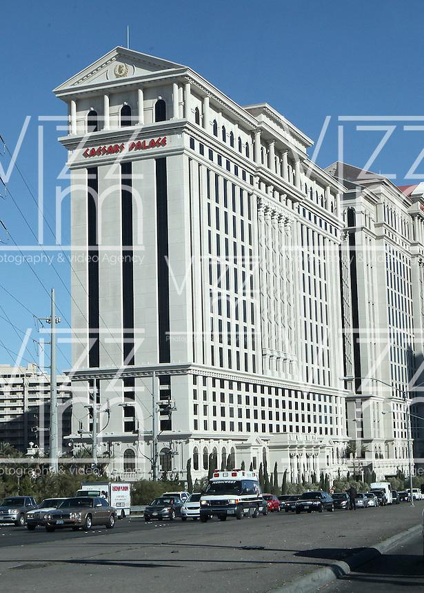 LAS VEGAS-ESTADOS UNIDOS. El hotel Cesar Palace de la  ciudad de Las Vegas, sitio de descanso y placer de turistas y residentes americanos. Photo: VizzorImage