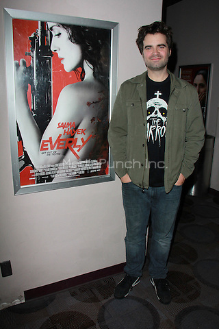 "BEVERLY HILLS, CA - FEBRUARY 28: Joe Lynch at the ""Everly"" Opening Weekend Splatter-Ganza at Laemmle's Music Hall, Beverly Hills, California on February 28, 2015. Credit: David Edwards/DailyCeleb/MediaPunch"