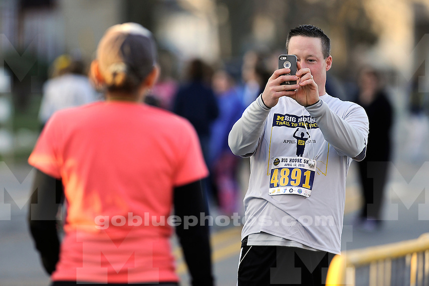 Trail to the Victors 5K road race, Sunday, April 12, 2015.