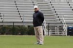 DURHAM, NC - MARCH 11: Loyola head coach Charley Toomey. The Duke University Blue Devils hosted the Loyola University Maryland Greyhounds on March 11, 2017, at Koskinen Stadium in Durham, NC in a Division I College Men's Lacrosse match. Duke won the game 15-7.