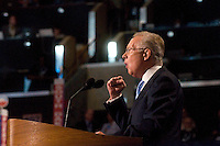 CHARLOTTE, NC - September 4, 2012 - Remarks by Harry Reid, Democratic Majority Leader and Member of the US Senate, Nevada at the 2012 Democratic National Convention.