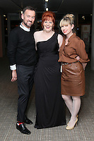 NO FEE 14/10/2010.  Bóthar's Rugby Rocks Fashion.  Lisa Flynn who was made over by Off The Rails is pictured with Brendan Courtney and Sonia Lennan at Bóthar's Rugby Rocks Fashion fundraising event at the Aviva Stadium in Dublin on Thursday night were {insert names here}. All proceeds from the event go towards Bóthar's projects in Pakistan. To find out more about Bóthar's work in Pakistan or in any of the 35 project countries Bóthar works in, lo-call 1850 82 99 99 or visit www.bothar.org. Picture James Horan/Colllins Photos