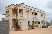 Tripoli, Libya - Typical Middle Class Suburban House