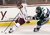 Kevin Hayes (BC - 12), Mike Keenan (Dartmouth - 27) - The Boston College Eagles defeated the visiting Dartmouth College Big Green 6-3 (EN) on Saturday, November 24, 2012, at Kelley Rink in Conte Forum in Chestnut Hill, Massachusetts.