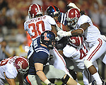 Ole Miss vs. Alabama at Vaught-Hemingway Stadium in Oxford, Miss. on Saturday, October 14, 2011. Alabama won 52-7.