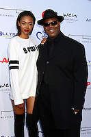 PACIFIC PALISADES, CA - JULY16: Bella Harris, Jimmy Jam Harris at the 18th Annual DesignCare Gala on July 16, 2016 in Pacific Palisades, California. Credit: David Edwards/MediaPunch