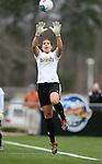 3 December 2006: Notre Dame's Lauren Karas. The University of North Carolina Tarheels defeated the University of Notre Dame Fighting Irish 2-1 at SAS Stadium in Cary, North Carolina in the NCAA Division I Women's College Cup championship game.