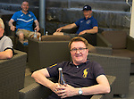 St Johnstone UEFA Cup Qualifyer, Armenia...01.07.15<br /> Fan Shug Taylor pictured realxing in a bar in the Armenia capital Yerevan ahead of tomorrow nights game against Alashkert FC.<br /> Picture by Graeme Hart.<br /> Copyright Perthshire Picture Agency<br /> Tel: 01738 623350  Mobile: 07990 594431