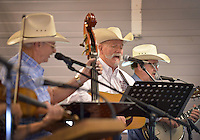 NWA Democrat-Gazette/BEN GOFF &bull; @NWABENGOFF<br /> Joe Lester plays with the worship band on Sunday June 21, 2015 during service at Corner Post Cowboy Church East of Siloam Springs.