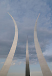 Washington DC; USA: The Air Force Memorial in Arlington, Virginia.Photo copyright Lee Foster Photo # 33-washdc79437
