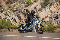 On location of the movie &quot;Transformers 5 The Last Knight&quot; , E7, being filmed near Theodore Roosevelt Dam in Arizona. The film has just started filming and further filming will take place in locations like Detroit, Ireland, Great Britan and Iceland. <br /> <br /> &copy;Fredrik Naumann/Felix Features