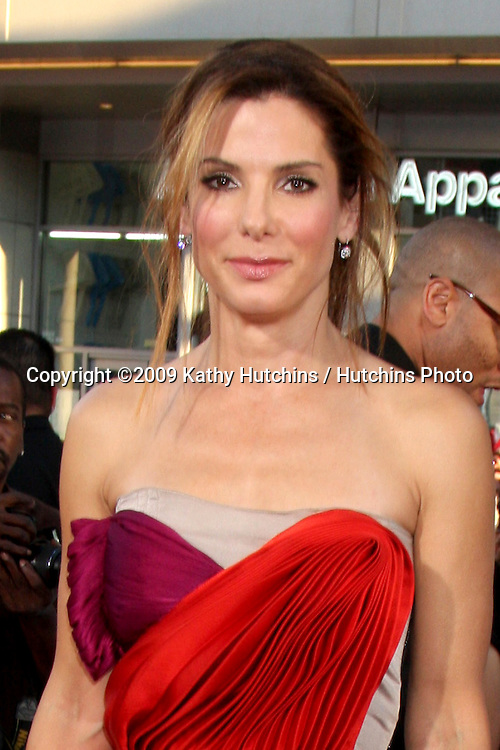 "Sandra Bullock  arriving at  the ""All About Steve"" Premiere at Grauman's Chinese Theater  in  Los Angeles, CA on August 26, 2009.©2009 Kathy Hutchins / Hutchins Photo."