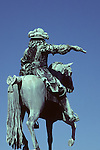 Versailles Statue Equestre Louis Le Grand, Louis Xiv On Horse