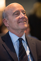 French presidential candidate Alain Juppé during a visit in Brussels