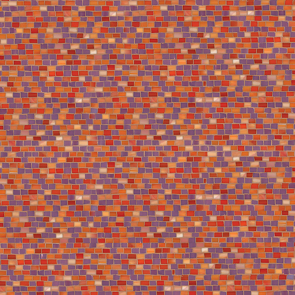 Smalti, a hand cut glass mosaic shown in Sonia and Sardonyx, is part of the Erin Adams Collection for New Ravenna Mosaics.