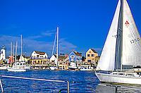Marina Del rey Ca Fisherman's Village Sailboats