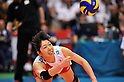 Erika Araki (JPN), .MAY 27, 2012 - Volleyball : FIVB the Women's World Olympic Qualification Tournament for the London Olympics 2012, between Japan 2-3 Serbia at Tokyo Metropolitan Gymnasium, Tokyo, Japan. (Photo by Jun Tsukida/AFLO SPORT) [0003].