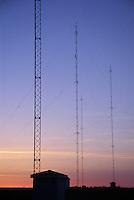 AM Radio Broadcast Tower Array