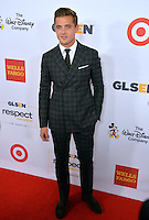 BEVERLY HILLS, CA. October 21, 2016: US soccer star Robbie Rogers at the 2016 GLSEN Respect Awards, honoring leaders iin the fight against bullying &amp; discrimination in schools, at the Beverly Wilshire Hotel.<br /> Picture: Paul Smith/Featureflash/SilverHub 0208 004 5359/ 07711 972644 Editors@silverhubmedia.com