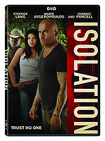 Isolation (2015)<br /> DVD COVER ART<br /> *Filmstill - Editorial Use Only*<br /> CAP/FB<br /> Image supplied by Capital Pictures