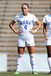 23 August 2015: Duke's Ashton Miller. The Duke University Blue Devils played the Weber State University Wildcats at Fetzer Field in Chapel Hill, NC in a 2015 NCAA Division I Women's Soccer game. Duke won the game 4-0.