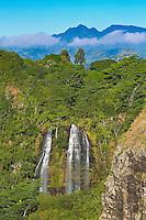 'Opaeka'a Falls, East Kaua'i.