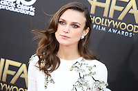 HOLLYWOOD, LOS ANGELES, CA, USA - NOVEMBER 14: Keira Knightley arrives at the 18th Annual Hollywood Film Awards held at the Hollywood Palladium on November 14, 2014 in Hollywood, Los Angeles, California, United States. (Photo by Xavier Collin/Celebrity Monitor)