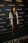 Melanie Fiona Attends Courvoisier kick off its newest program, Courvoisiology, With Award-winning songstress Kelly Rowland at SIR Stage 37, NY   4/4/13