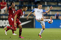 Kansas City, KS. - May 28, 2016: The U.S. Men's national team go on to defeat Bolivia 4-0 with seventeen year old Christian Pulisic contributing his first goal in a U.S. Men's national team uniform during an international friendly tuneup match prior to the opening of the 2016 Copa America Centenario at Children's Mercy Park.
