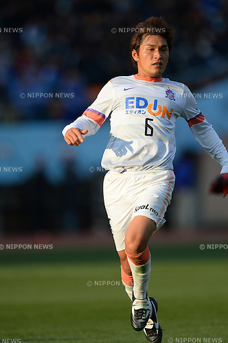 Toshihiro Aoyama  (Sanfrecce), JANUARY 1, 2014 - Football / Soccer : The 93nd Emperor's Cup Final match between Yokohama F.Marinos 2-0 Sanfrecce Hiroshima at National Stadium, Tokyo, Japan. (Photo by AFLO) [2116]