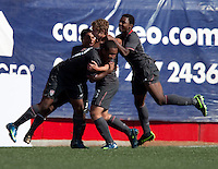 Nicholas Palodichuk celebrates his goal. The Under-17 US Men's National Team defeated Honduras 3-0 in the 2009 CONCACAF Under-17 Championship on April 25, 2009 in Tijuana, Mexico.