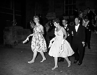 Trinity Ball at Trinity College .13/06/1959 .